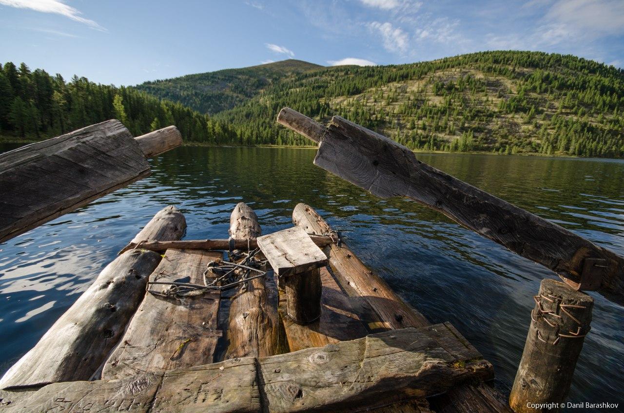 Озеро Маранкуль. Западные Саяны. Автор: Данил Барашков
