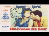 1956- Martin, Lewis -Hollywood Or Bust -  Anita Ekberg