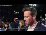 Интервью с Арми Хаммером на презентации Call Me By Your Name на LFF2017 (RUS SUB)