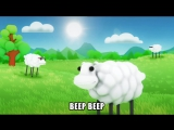The Living Tombstone feat. LilDeuceDeuce, TomSka & BlackGryph0n - Beep Beep Im a Sheep (Official Video