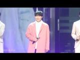 [FANCAM] 31.12.2017: Ынкван, Чансоб и Хёншик - Ambiguous (Фокус на Ынквана) @ 2017 KBS Drama Awards