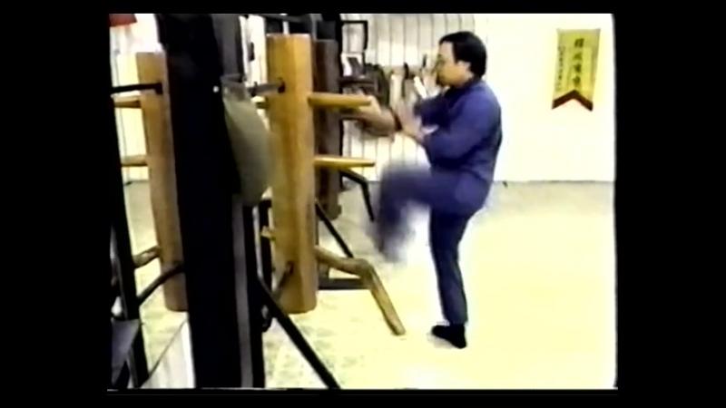 Вин Чун Августина Фонга деревяный манекен