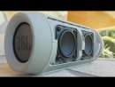 JBL Charge 2 - Bass test (disassembled)