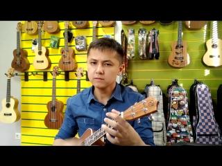 Камбар Кусаинбеков. Bob Dylan - Knocking on heaven's door (ukulele cover)