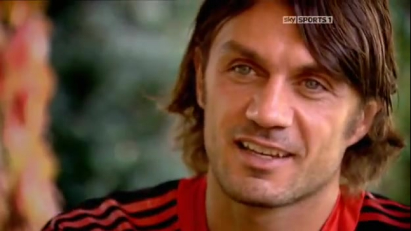 Footballs Greatest / Best Players in the World / Paolo Maldini