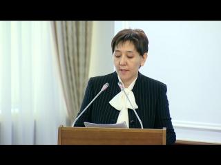Об единой информационной системе социально-трудовой сферы (Тамара Дуйсенова)