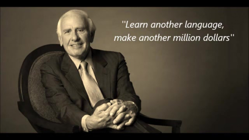 Jim Rohn on learning multiple languages