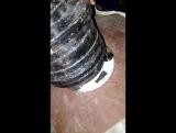 Калибровка латунного монстра на 78кг и гиря 32кг мизинцем