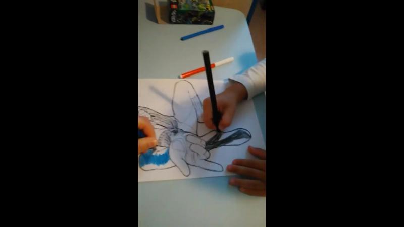 рисование с андрейкой