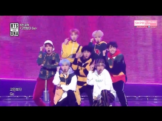 170921 BTS - 고민보다 Go @ Mnet Comeback Show