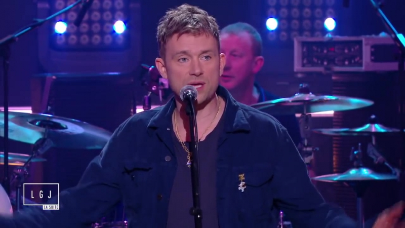 Canal France . Blur - Girls and Boys - Live du Grand Journal (So British1)
