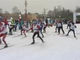 Гонкой в поддержку российских олимпийцев лыжники открыли сезон на лыжне Зимятова