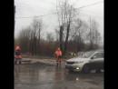 Ремонт дороги на ул Косаткина Архангельск