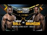 Derek Brunson vs Uriah Hall UFC Fight Night