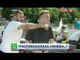 Быдло ВДВшник ударил журналиста НТВ 2017