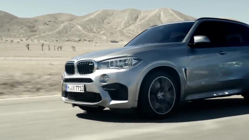 Новые BMW X5 M и BMW X6 M.