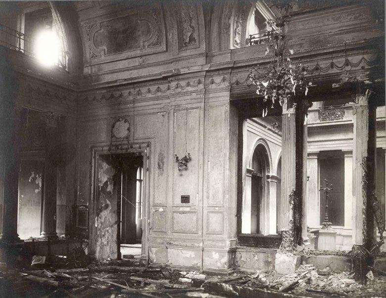 зимний дворец после взрыва