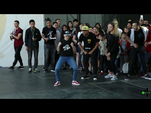 YOUNG HELLBLAZER VS SENSE | KRUMP 1X1 | SEMI-FINAL | ISDS 2017