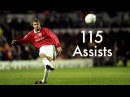 David Beckham / All 115 Assists for Manchester United / 1992 - 2003
