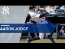 Check all all 50 of Aaron judge's home runs