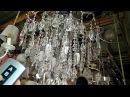 12 ламповая потолочная хрустальная люстра с пультом