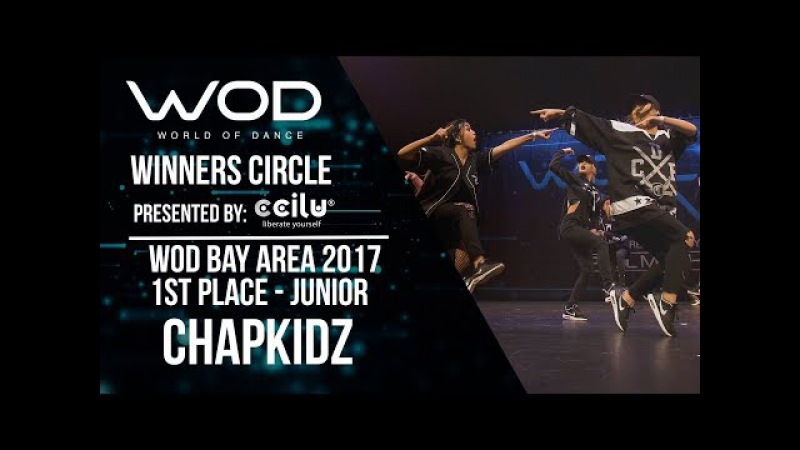 ChapKidz | 1st Place Junior Division | Winners Circle | World of Dance Bay Area 2017 | WODBAY17
