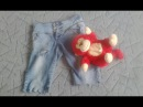 DIY .  Шорты из джинс    shorts from jeans