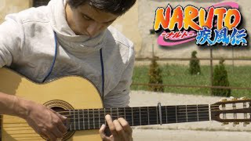 Loneliness - Naruto Shippuden (Fingerstyle Guitar Cover by Albert Gyorfi) [TABS]