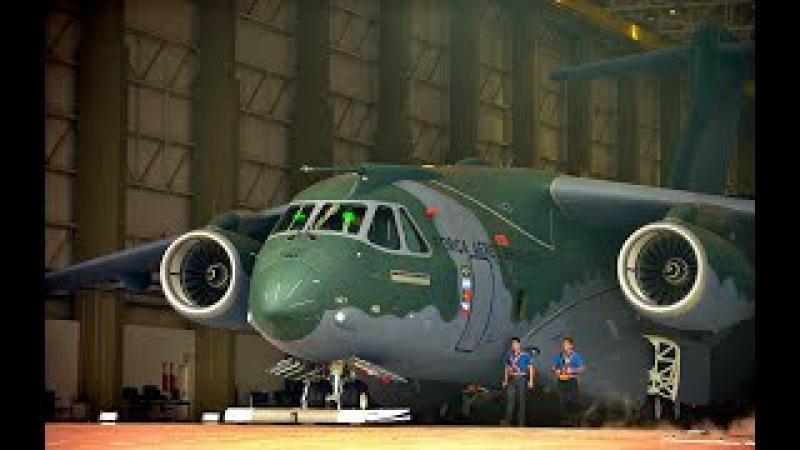 WALK AROUND KC- 390 / DESCUBRA O AVIÃO MILITAR DA EMBRAER