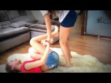 Jacy and Kacy Two People Yoga Challenge for Kids