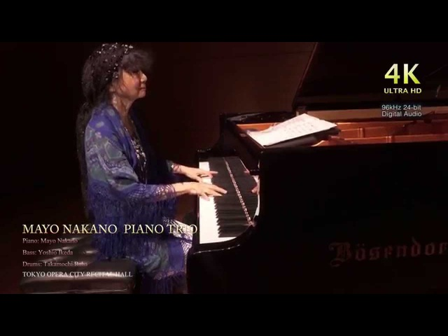 SONY a7s 4K Atomos SHOGUN 96kHz 24bit Sound MAYO NAKANO PIANO TRIO