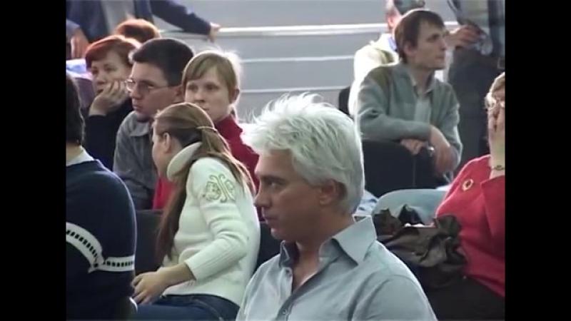 Дмитрий Хворостовский и Хор VIVAT Репетиция в Экспо Волге г Самара, 30 04 2006