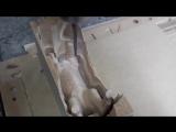 Фрезеровка статуэтки лошади на ЧПУ