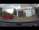 водитель волги защитил пешехода
