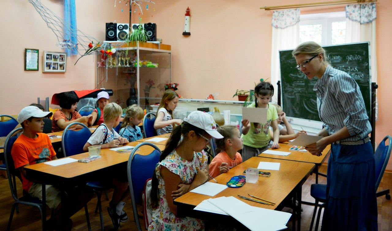занятие Творчество и мир для детей
