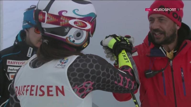 Горные лыжи ЧМ 2017 слалом гигант жен.