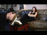 Goddess Victoria Вылизывает балеточки feet slave licking shoe Foot fetish Фут-фетиш #femdom #mistress