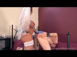 [theenglishmansion] emma butt - honeymoon wedlock [femdom, strapon, pegging, 720p]