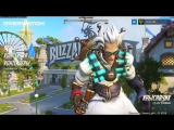 Blizzard world а потом в рейтинг (overwatch стрим)