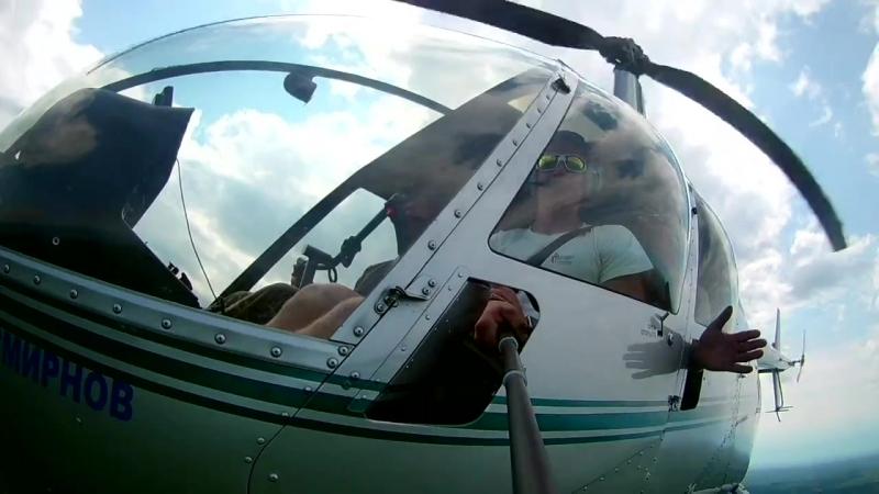 Второй день авиамониторинга пожарной опасности от Игоря Малиновского (5.07.2017)