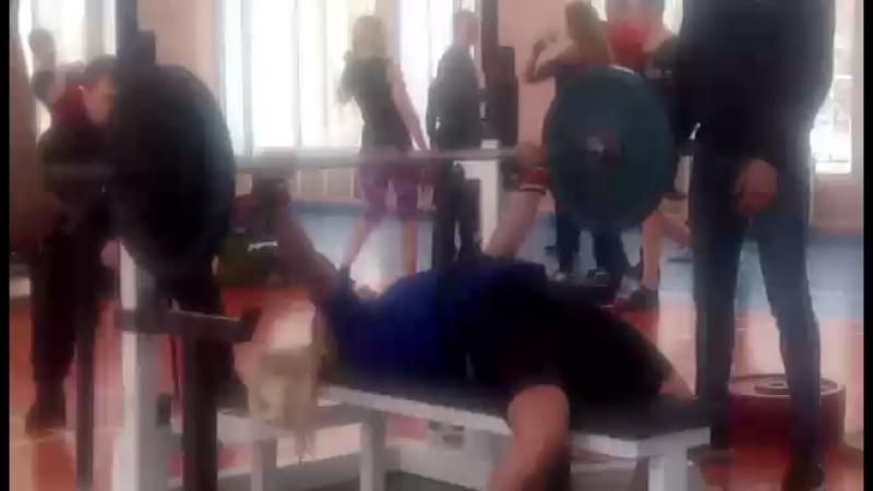МС Ксения Торопушина 95 кг