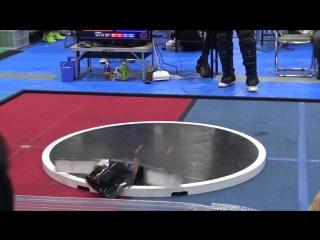 Соревнования по робо-сумо в Японии