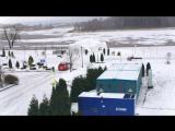 Яндекс протестировал беспилотный авто на заснеженной дороге