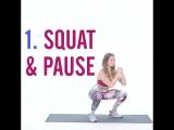 ТОП-5 упражнений для похудения