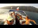 Морские прогулки с дельфинами на скоростном катере Багратион с Фёдором Косых В Абхазии г Гагра