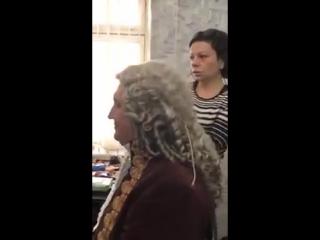 Александр Осипов в роли графа Цинцендорфа
