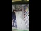 Момент кражи в Магните на Кордных Омск