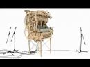 Wheelharp Marble Machine