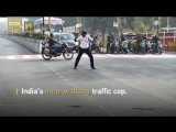 Whos bad Indian traffic cop grabs motorists attention with Michael Jackson dance moves