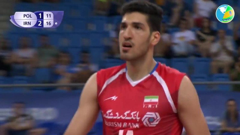 TOP 10 Volleyball Actions - Young Talented Player of Iran - Mohammad Javad Manavinejad (MANAVI)